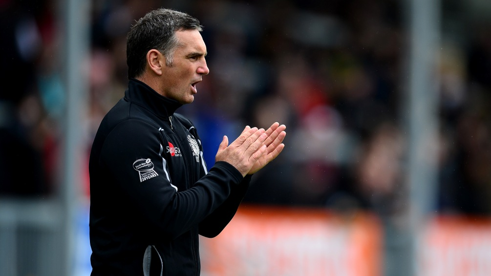 Pellow expects Exeter Chiefs youngsters to light up Sandy Park