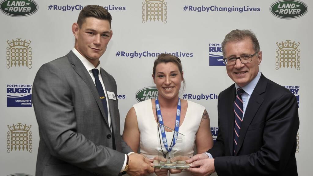 Gloucester Rugby's Tom Lindsay praises Volunteer of the Year