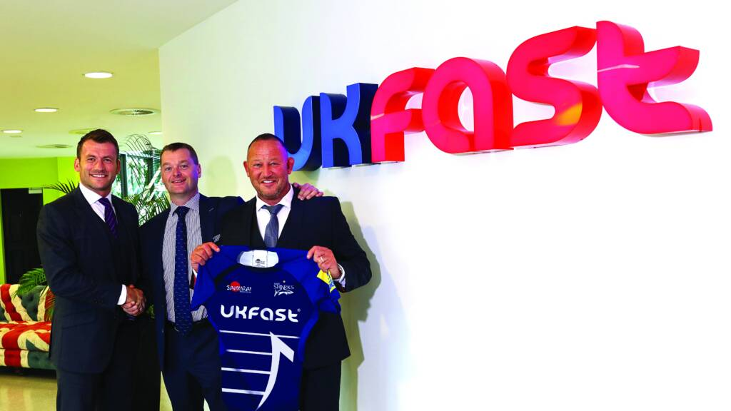 Sale Sharks announce new sponsorship deal with UKFast