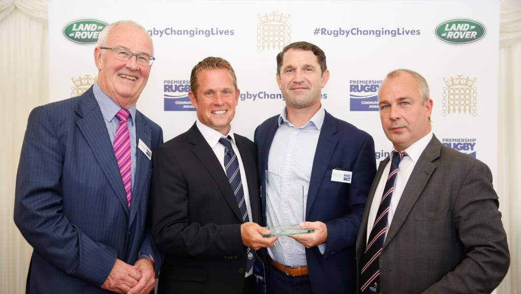 Bristol Rugby's Eagle Project wins national award.