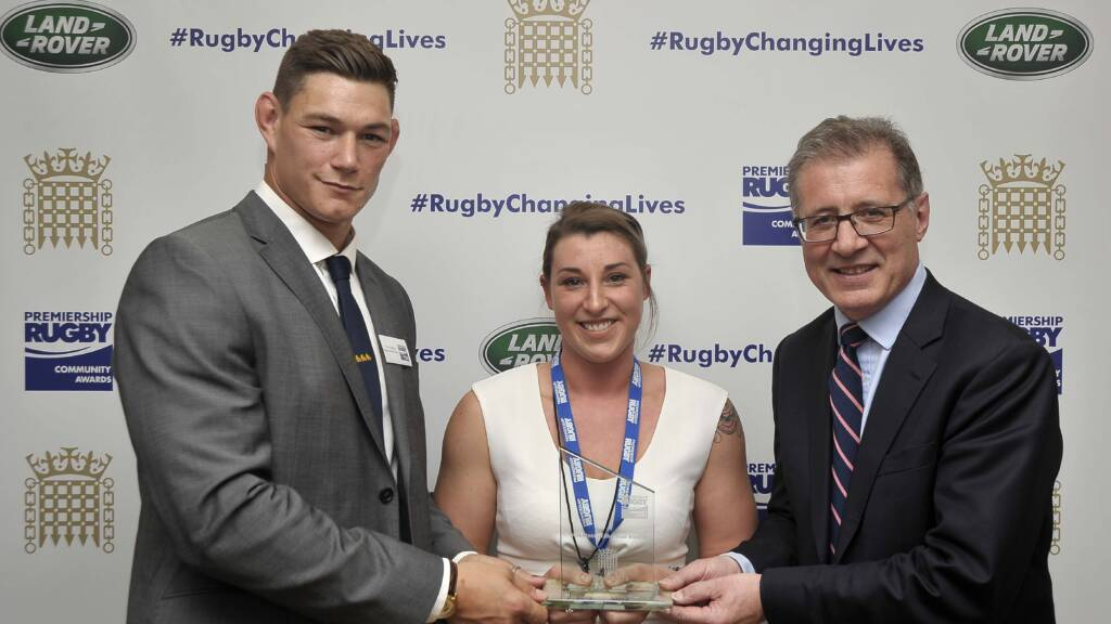Gloucester Rugby's Nicole Talbot crowned Volunteer of the Year