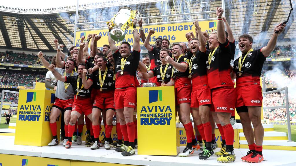 Aviva Premiership Rugby Fixtures announced