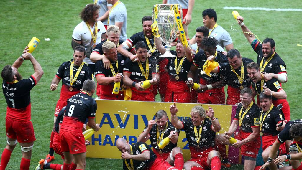 Ricoh partnership puts fans amongst celebrating Saracens