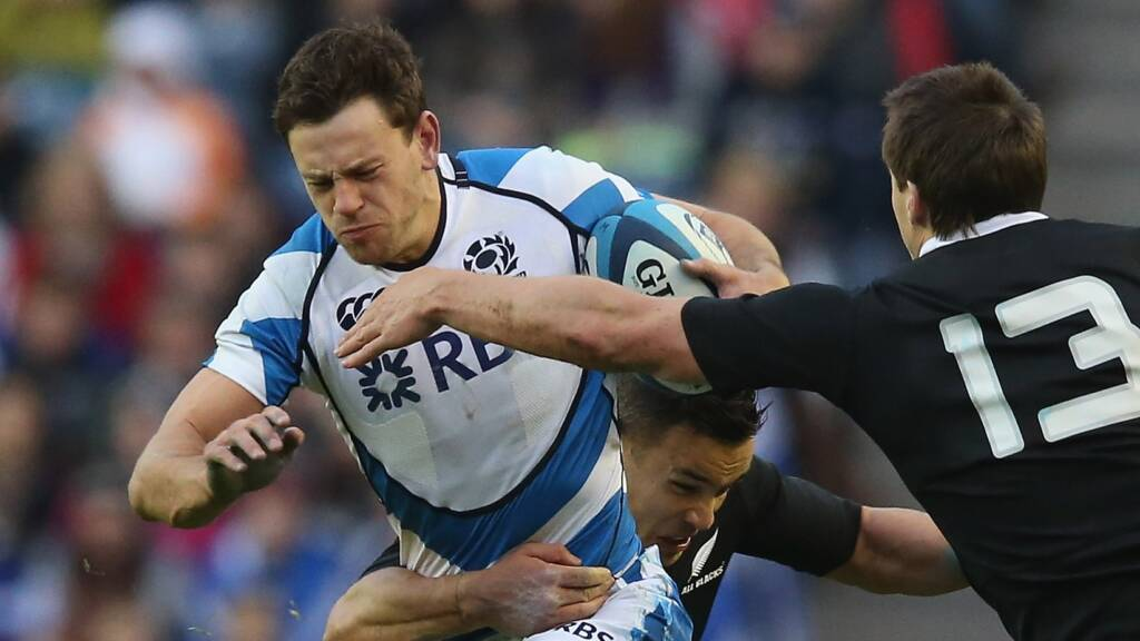 Wasps sign Scottish centre Nick De Luca