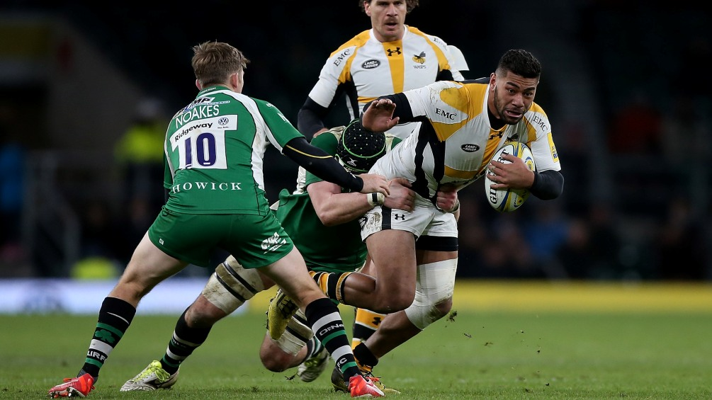 Piutau plotting a happy New Year with Wasps