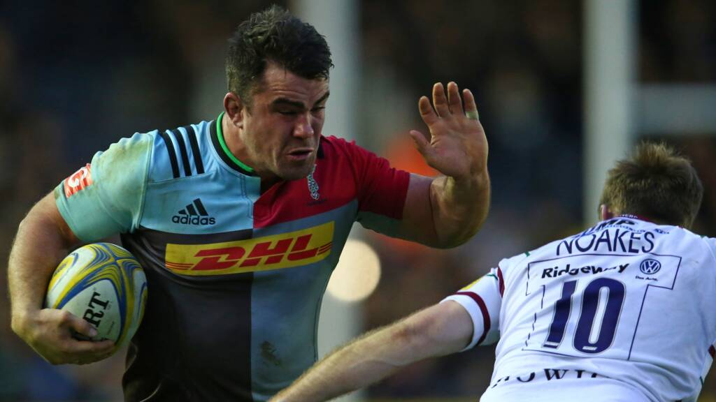 Dave Ward re-signs with Harlequins