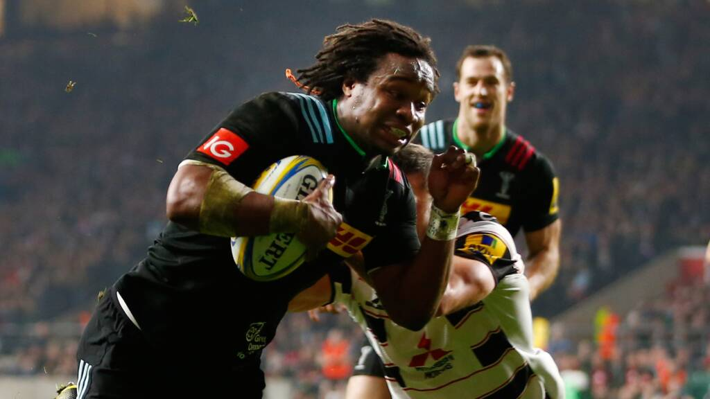 Harlequins team to play Saracens