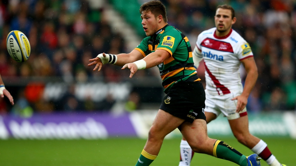 Waller wants to keep marching with Northampton Saints