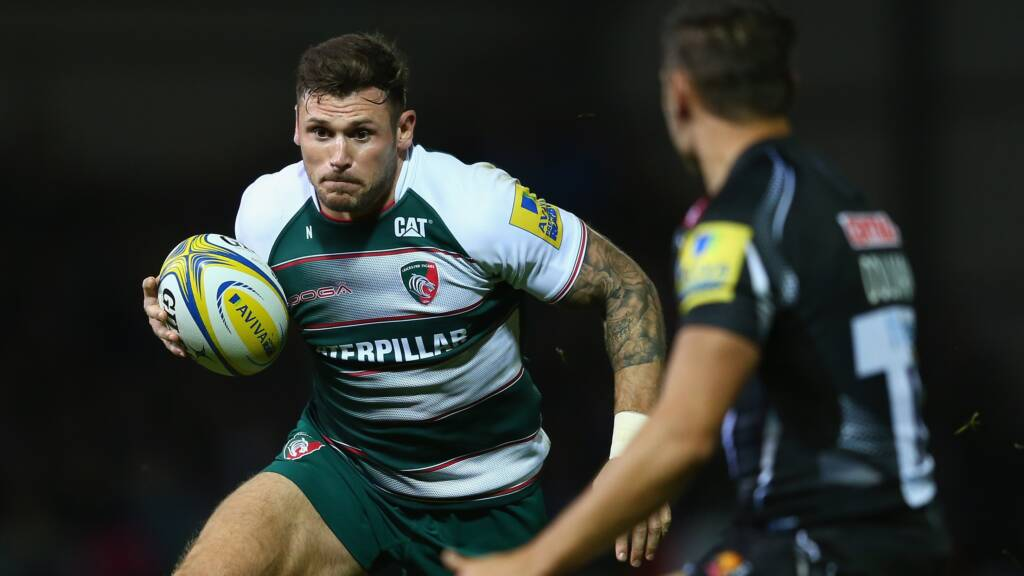 Thompstone agrees new terms with Leicester Tigers