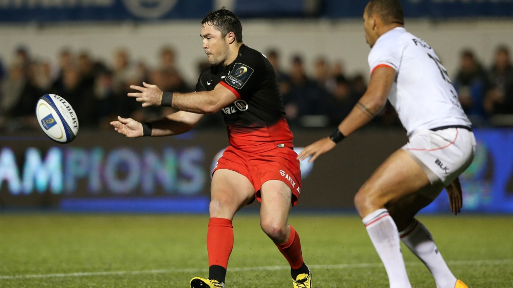 Barritt captains Saracens on landmark appearance