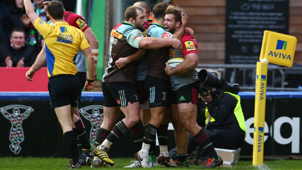 There's no place like Harlequins for Rob Buchanan