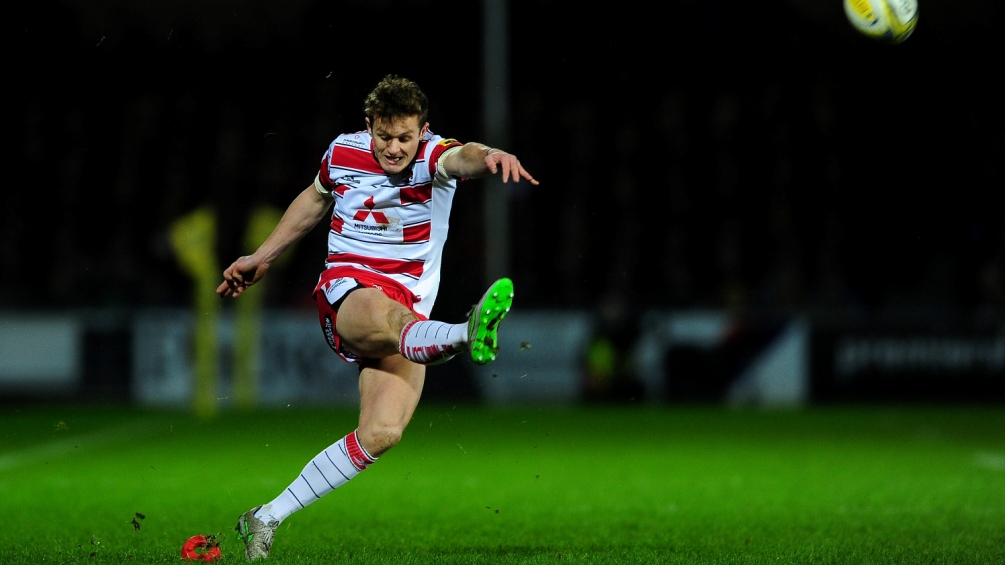 Burns enjoying the pressure at Gloucester Rugby