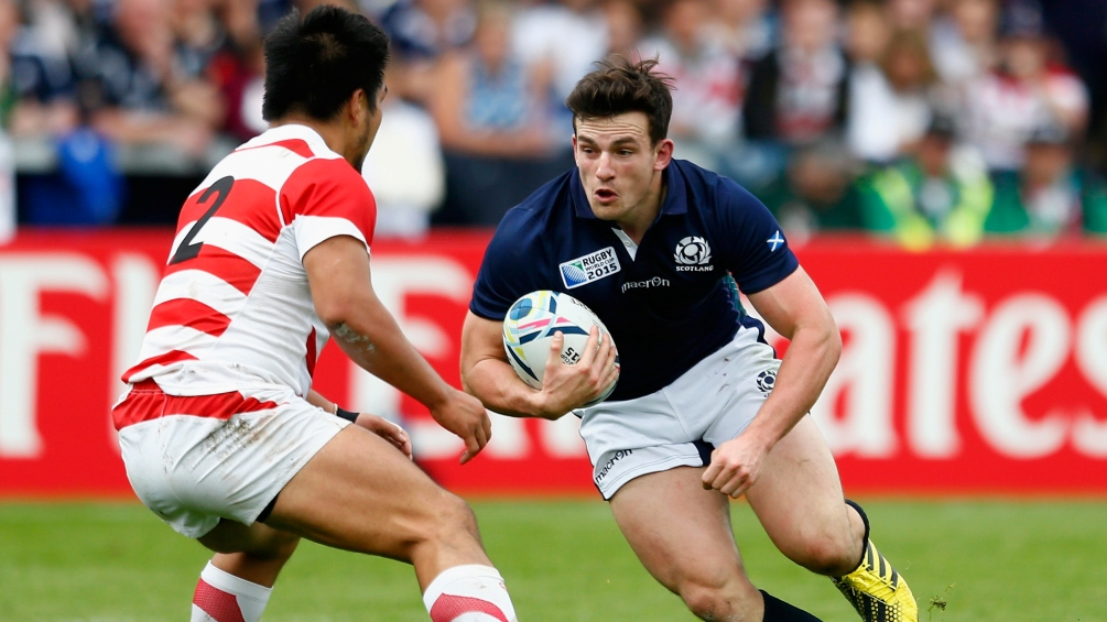 Scotland international Matt Scott signs for Gloucester Rugby