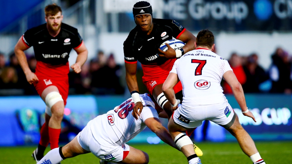 European round-up: Saracens complete double over Ulster