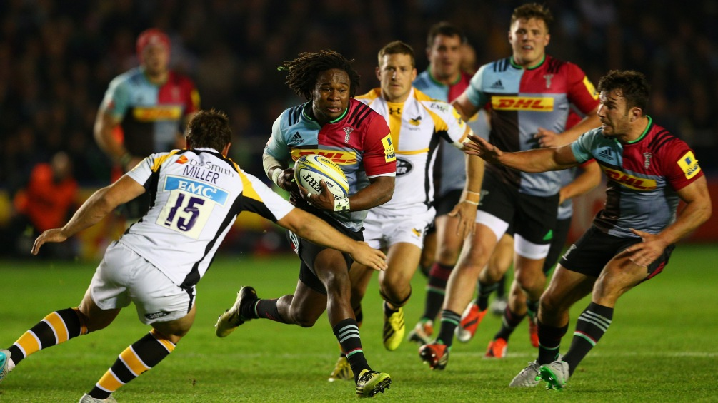 Harlequins team to play Montpellier