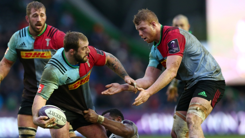 George Merrick relishing combination of young and old at Harlequins
