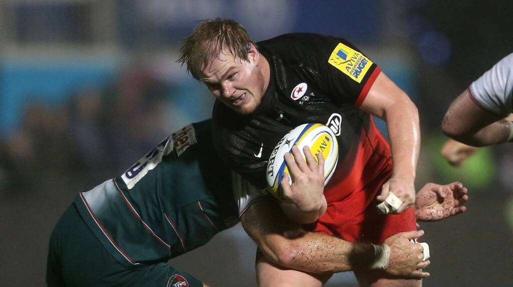 Rhys Gill to bid farewell to Saracens at the end of the season