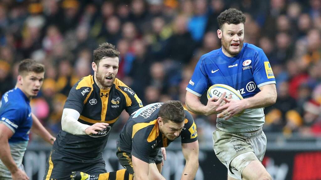 Scotland centre Taylor extends Saracens deal