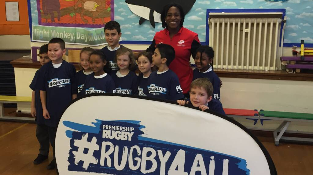 Maggie Alphonsi backs Premiership Rugby's Rugby4All programme