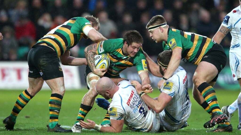 Northampton Saints Teimana Harrison wins Green Flag Award