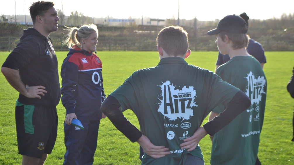 Rugby World Cup winner acclaims the HITZ programme