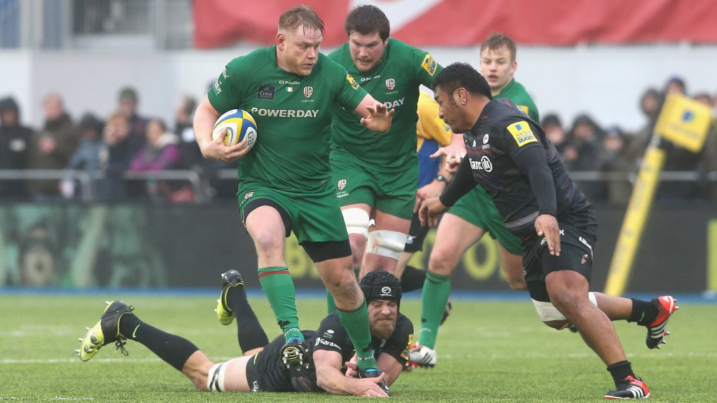 Court: London Irish should embrace pressure
