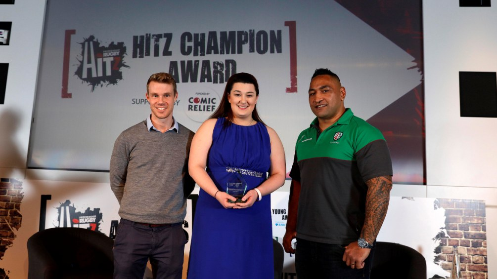 Sale Sharks' Lacey shines as HITZ Champion of the year