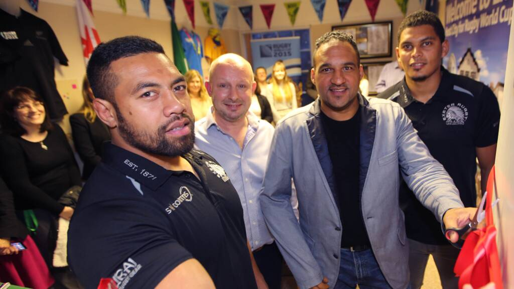 Exeter Chiefs stars help open Rugby World Cup museum