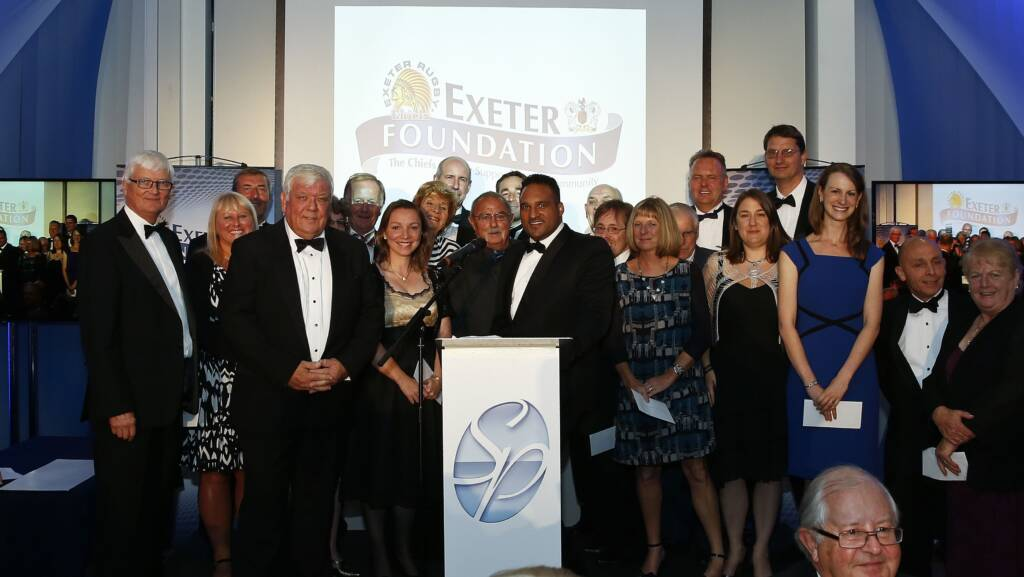 Exeter Chiefs raise £145,000 for local charities