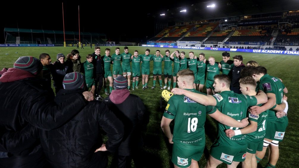 Paul Hodgson: Team effort delivered Under-18 trophy for London Irish