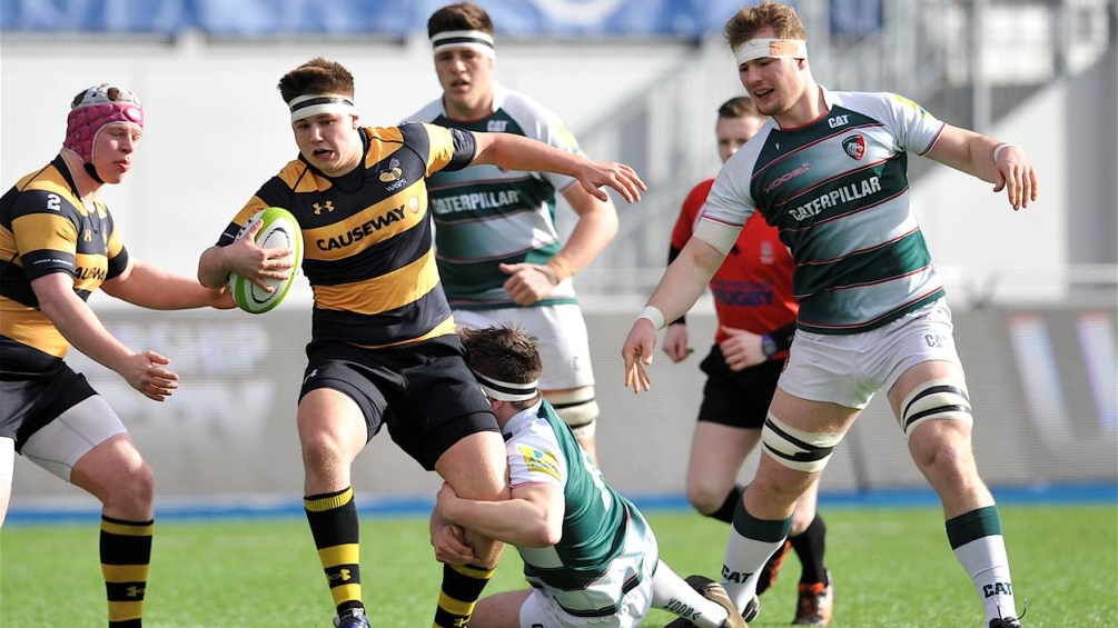Wasps' Matt Davies looking at the positives in defeat