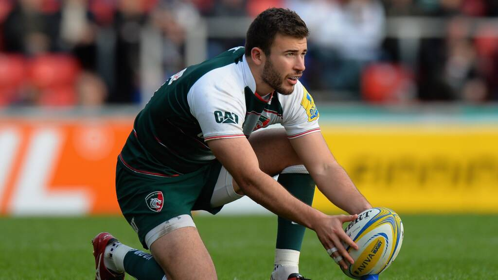 London Irish sign Leicester Tigers' Tommy Bell
