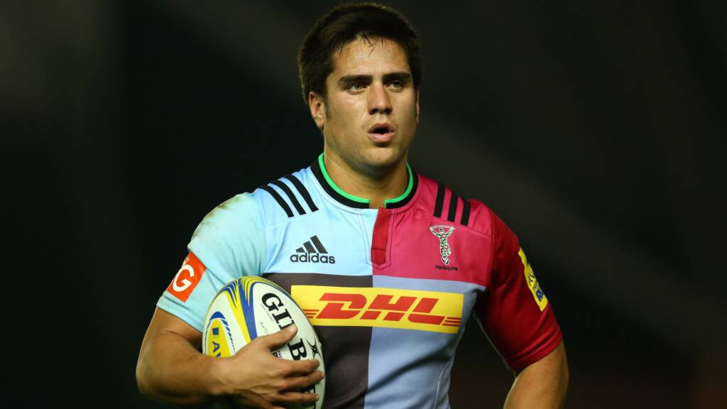 Harlequins team to play Leicester Tigers