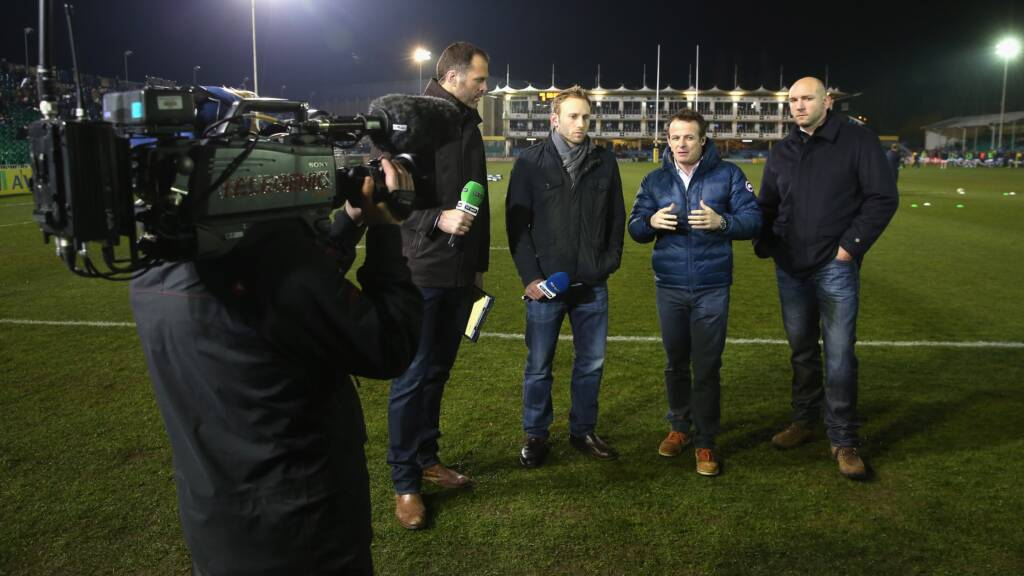 Aviva Premiership Rugby Live on TV this weekend