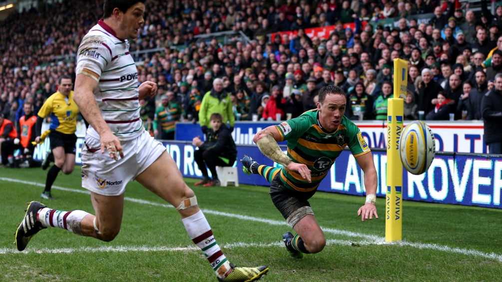 Wilson making up for lost time with Northampton Saints