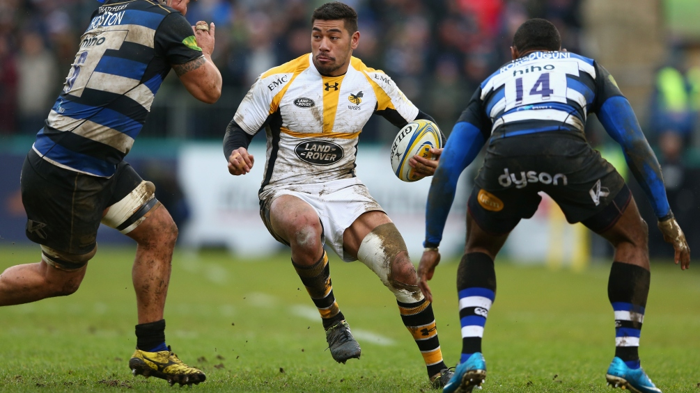 Charles Piutau, Christian Wade and Amanaki Mafi top the Opta ranking