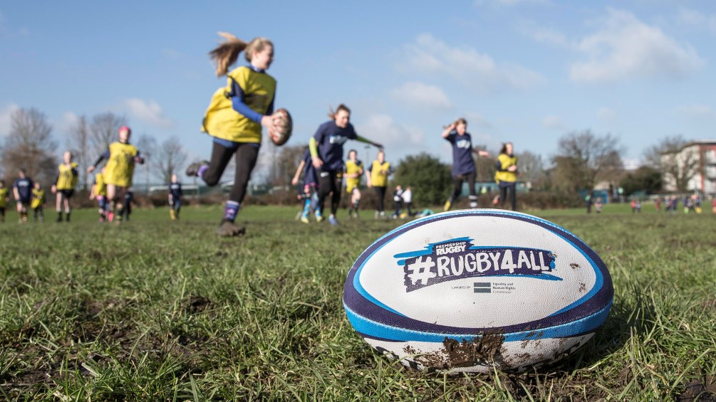 Nick Evans impressed by Rugby4All impact at Harlequins