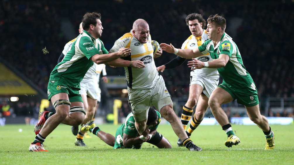 Cooper-Woolley unsurprised by Wasps' red-hot form