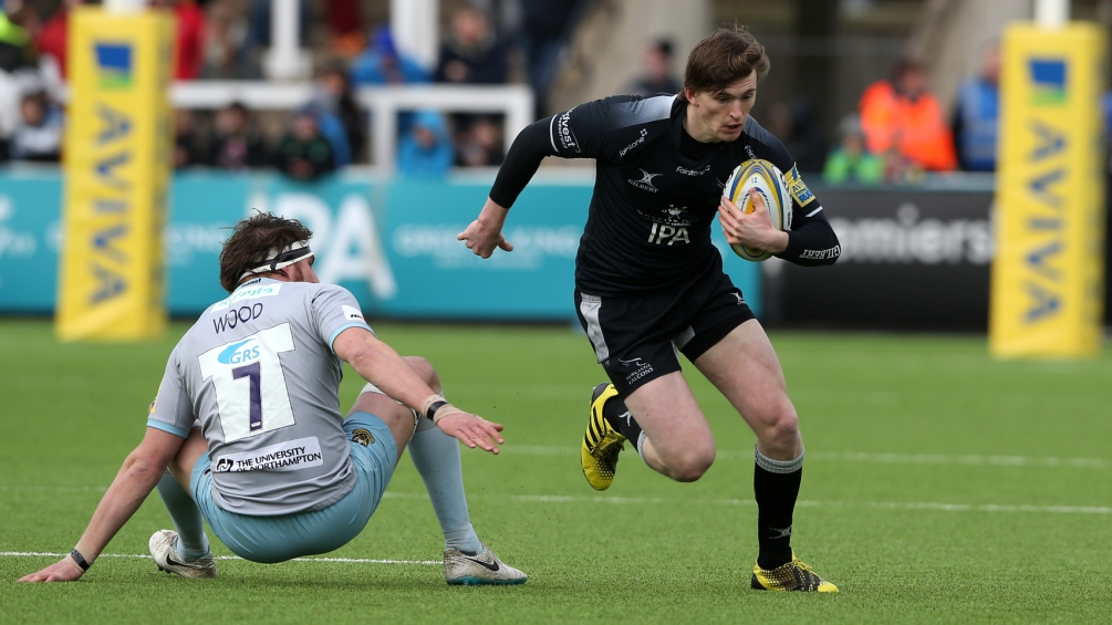 Simon Hammersley: Ambition inspiring Newcastle Falcons' fine form