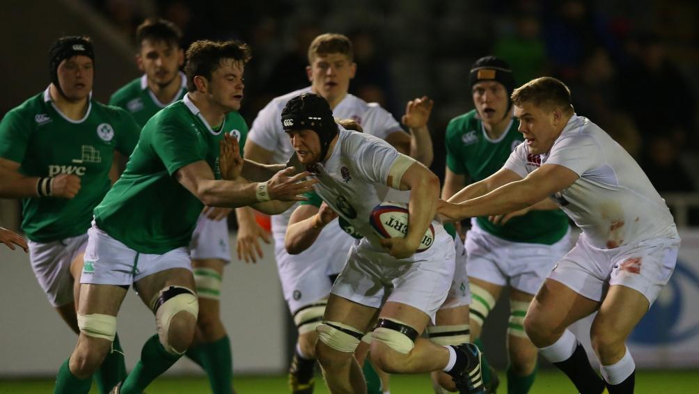 England Under-20s undone 20-26 by Ireland
