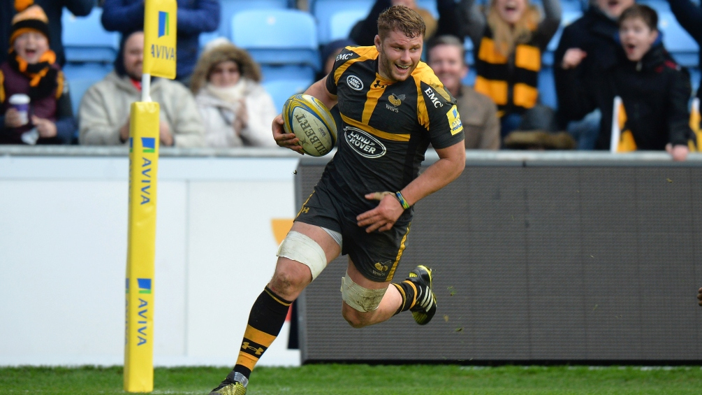 Thomas Young leads the way in the Opta statistics for Aviva Premiership Rugby