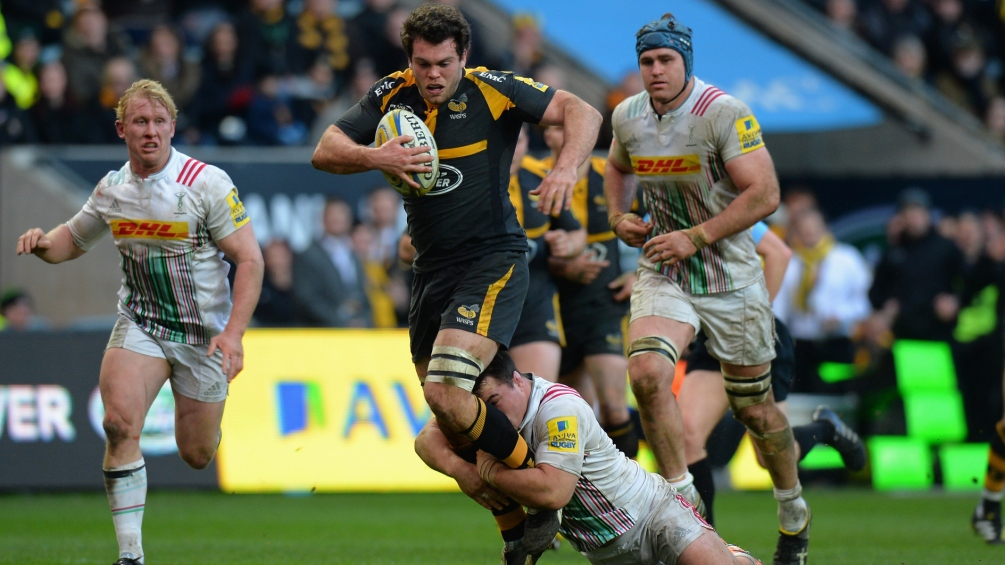 Alex Rieder relishing Wasps' Land Rover Premiership Rugby Cup