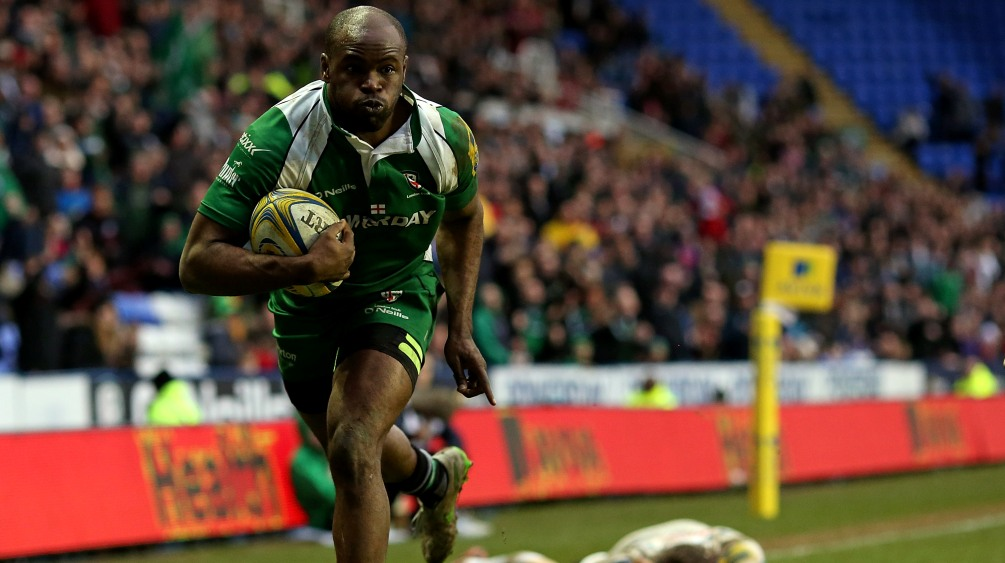 Topsy Ojo can't wait for London Irish's trip to New Jersey