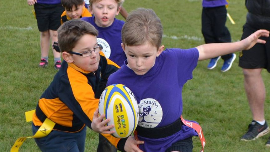 Northampton Saints a hub for community rugby