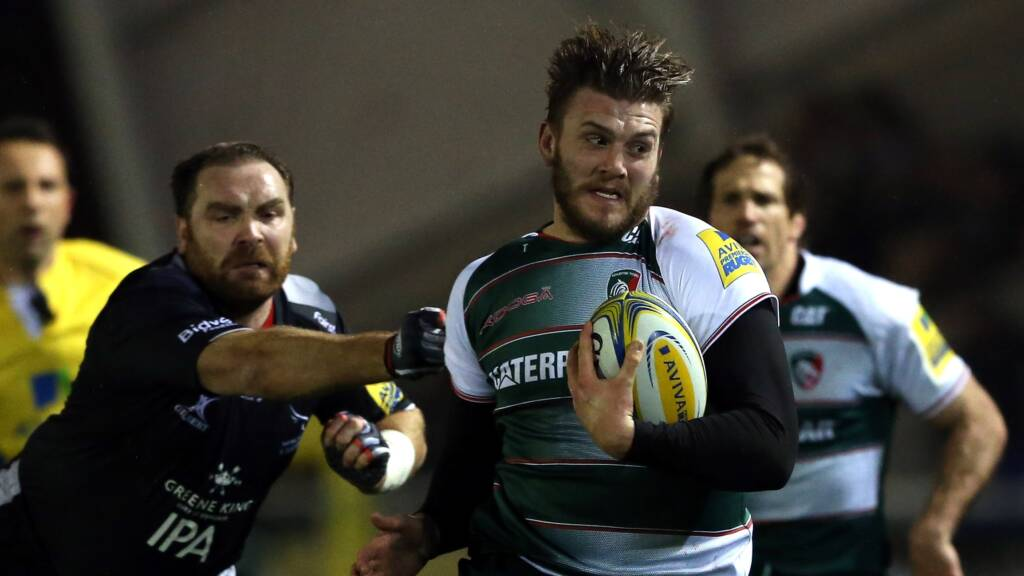 Laurence Pearce Joins Sale Sharks from Leicester Tigers