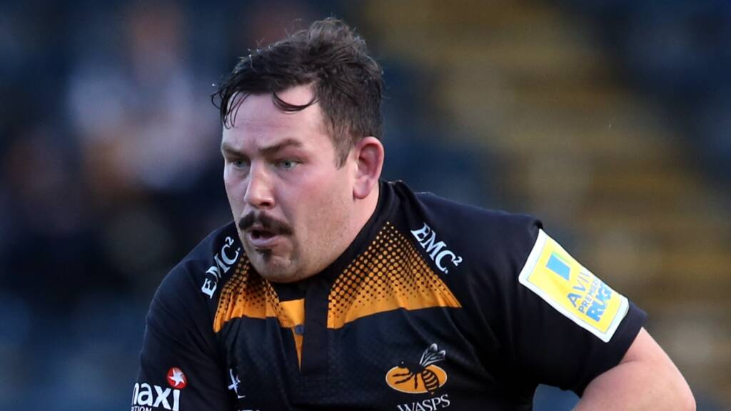 Wasps Team to play Gloucester Rugby