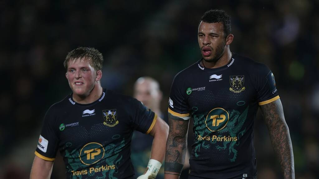 Northampton Saints team news for Saracens trip