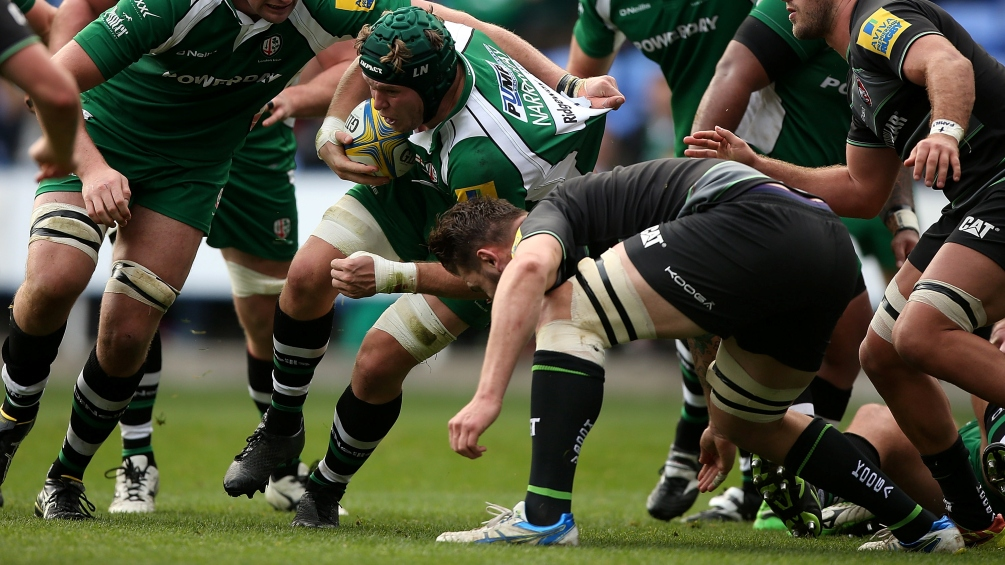 Let's turn New Jersey green, says London Irish's Luke Narraway