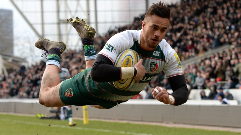 Peter Betham prepares for his biggest game with Leicester Tigers
