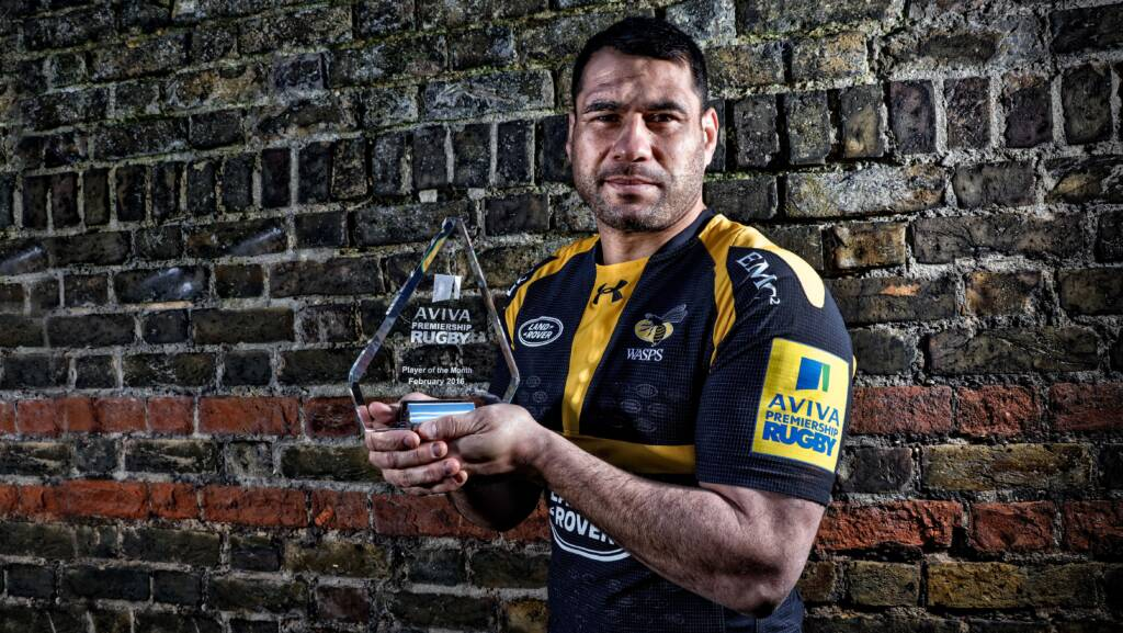 George Smith, Wasps, named Aviva Premiership Rugby Player of the Month for February